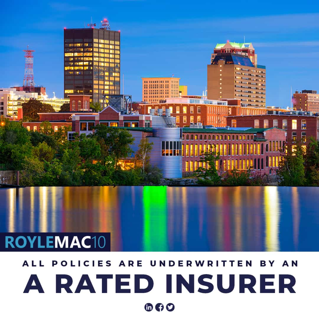 ALL-POLICIES are Underwritten by an A Rated Insurer