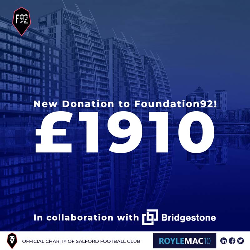 New Donation to FOUNDATION92